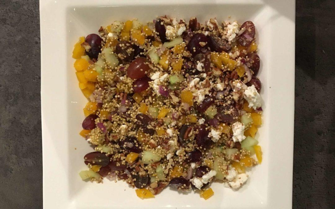 Vegetarische quinoasalade