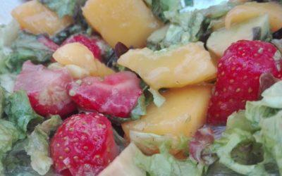 Frisse zomerse salade